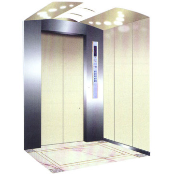 Elevator Cabin Decoration , Center Opening Car Door