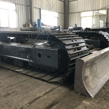 Excavator Steel Track Undercarriage Chassis  Parts