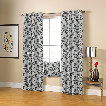 2017 Typical Polyester Jacquard Curtain Fabric