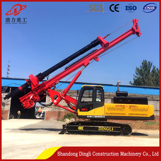 Shandong Dingli High Quality Tracked Auger Rigs