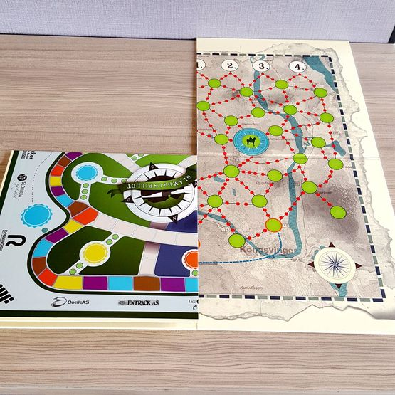 custom printing activity logo paper board game toy