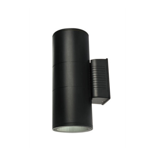 Black Body IP65 15W Outdoor Wall Light