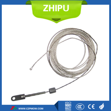 Tungsten wire rope soft shaft single crystal furnace