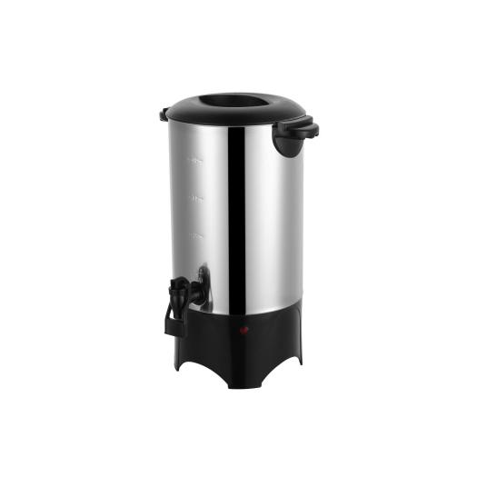 stainless steel restaurant coffee maker with reservoir