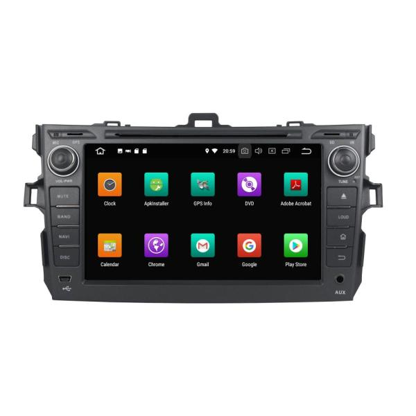PX5 Android Powered Units for Corolla 2006-2011