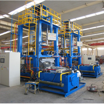 Metal tilting gravity casting equipment