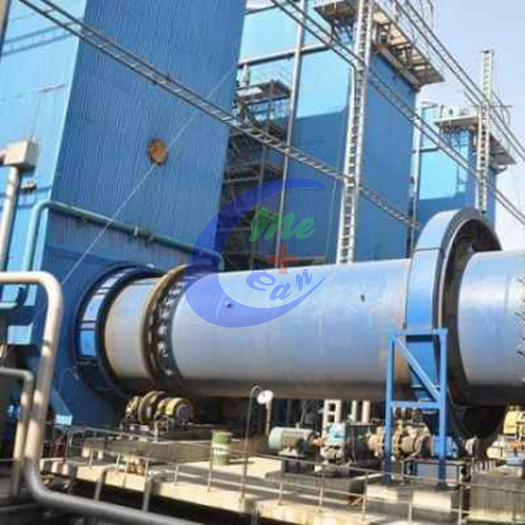 Sludge carbonization treatment dry distillation furnace