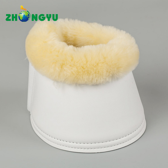 Overreach Sheepskin Bell Boots