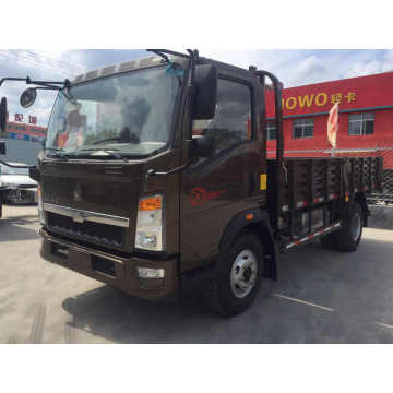 4 Tons Howo Sinotruk Light Duty Box Trucks