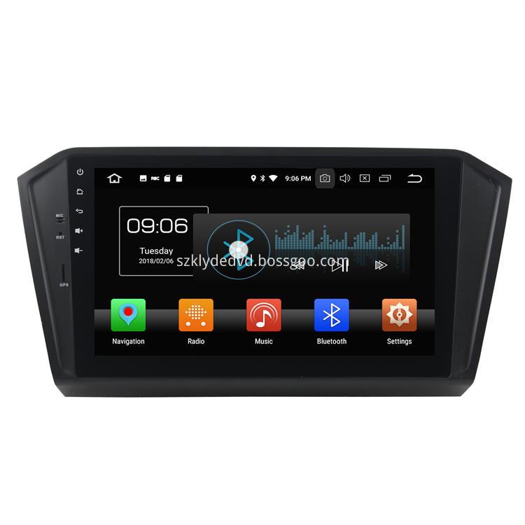 Oreo Car Navigation Systems From Passat 2016 1