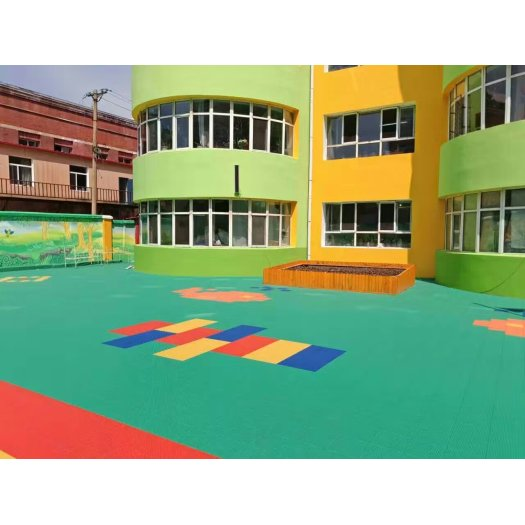 Kids Amusement Park Flooring Interlocking Sports Floor