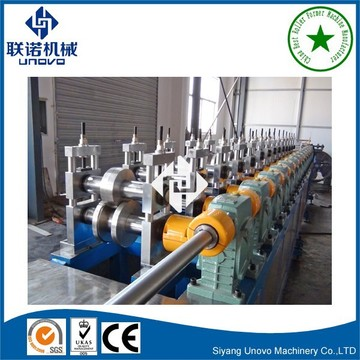 Unovo warehouse storage rack roll forming machine
