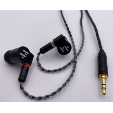 High Fidelity in-Ear Monitor Headphones with Detachable Cable