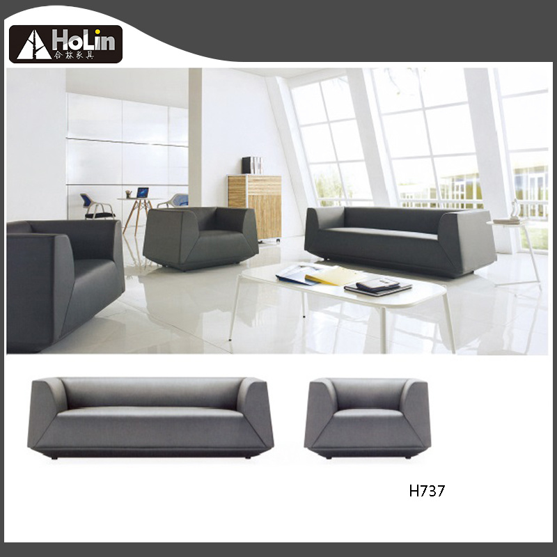 Customized 2019 Leather Office Sofa Set Comfortable Pu Leather Or Fabric Single Seat Office Sofa
