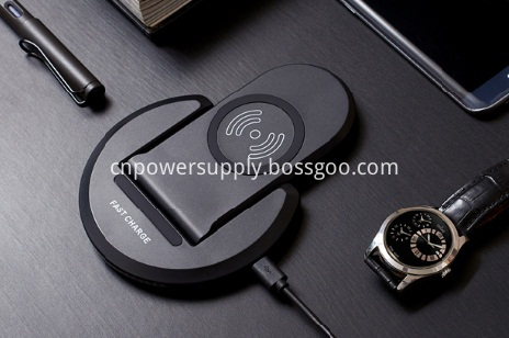 2 In 1 Foldable Qi Fast Wireless Charger