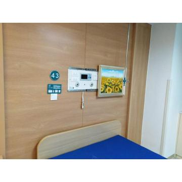 Concealed Mural bed head panel for O2