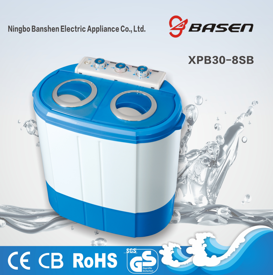 XPB30-8SB 3kg twin tub washing machine