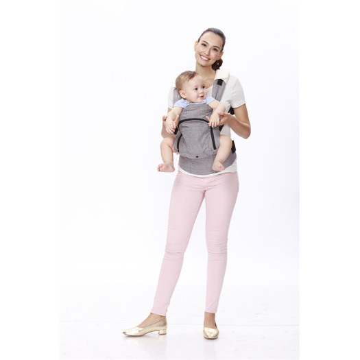 Stylish Design Solid Color Baby Carrier
