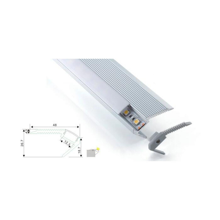 Square High Quality Linear Light