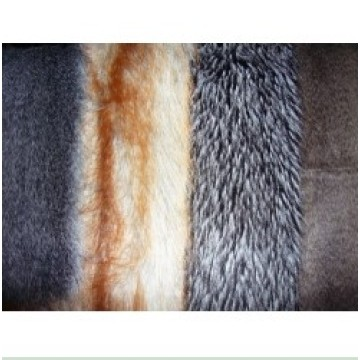 Tops Knitting Imitation Faux Fur