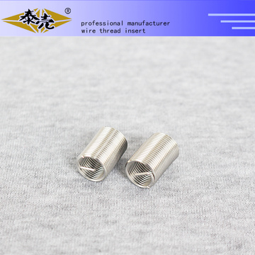 high precision screw fastener threaded inserts for aluminum