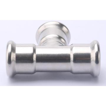 Stainless Steel M Pipe Press T Fitting