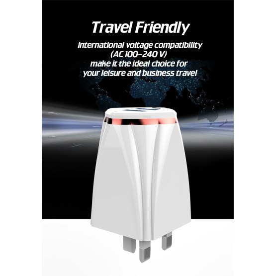 UK EU USA Fast Travel Wall Charger