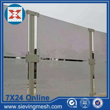 Perforated Metal Cladding Panels