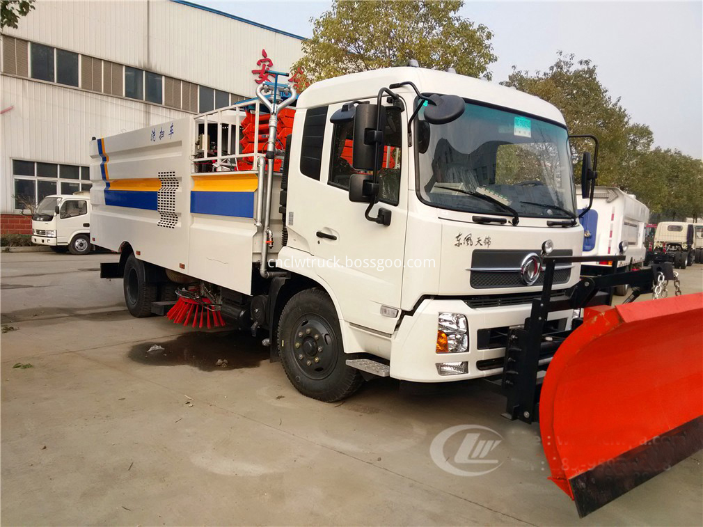 road sweeper truck companies 1