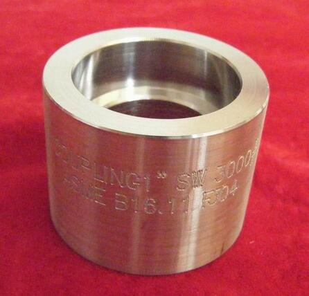 ANSI B 16.11 SOCKET WELDING HALF COUPLING