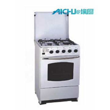 Freestanding Gas Oven With Glass Cover
