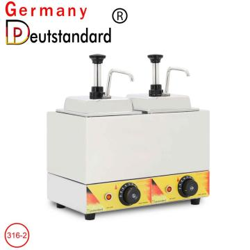 Double head sauce warmer machine