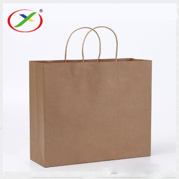 100% Eco-friendly Material Kraft Paper bags