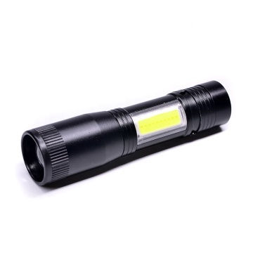 Multi-function Portable COB Torch Flashlight  with Clip