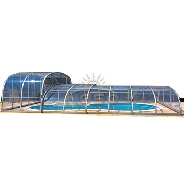 Cover Patio Balcony Polycarbonate Swimming Pool Enclosure