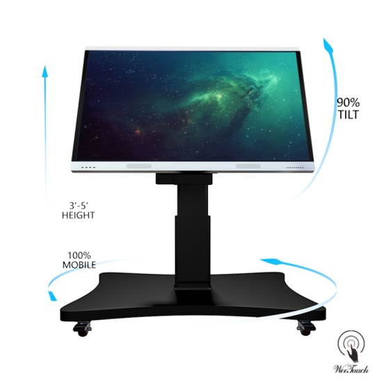 75 inches AI touch panel with Automatic stand