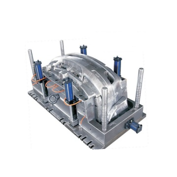 Automotive front and rear bumper injection moulds
