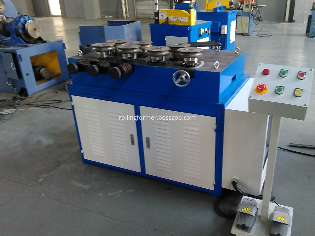 7 rollers bending machine 4