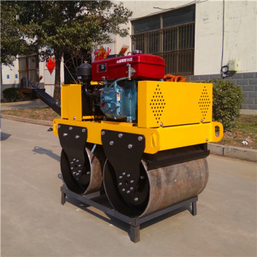 High quality mini double drum cylinder asphalt rollers