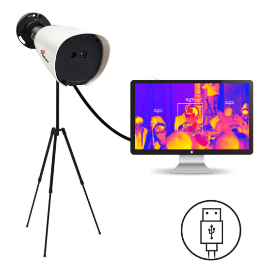 200W Pixels Full HD Thermal Camera for Hospitals