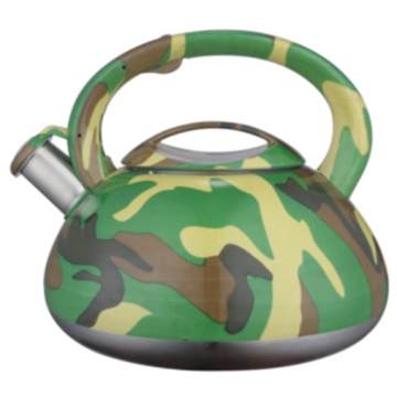 3.0L color painting decal whistling teakettle