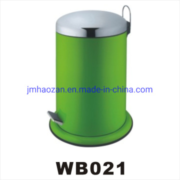 Stainless Steel Pedal Trash Can, Dustbin