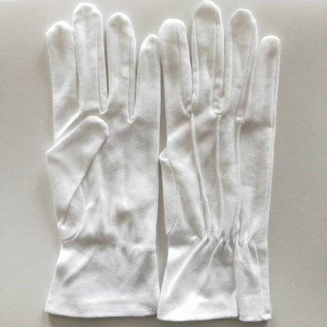 Soft and Comfortable White Cotton Gloves