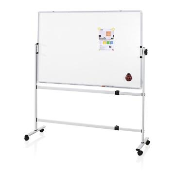 Double Sides Magnetic mobile whiteboard with stand