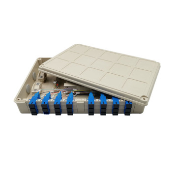 Wall Mount Fiber Optic Terminal Box 24 Cores