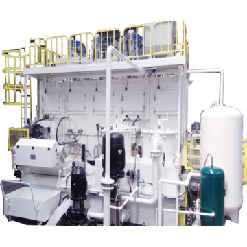 The aluminium washing equipment