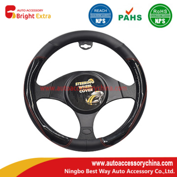 Leather Steering Wheel Wrap Cover