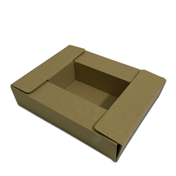 Large cardboard or kraft storage box gift