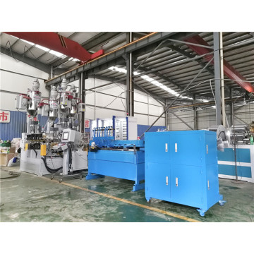 PE/PP/PA Single Wall Corrugated Pipe Extrusion Line