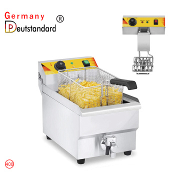 Small electric fryer deep frying machine